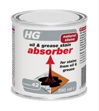 HG 42 - natural stone oil & grease stain absorber - 250ml