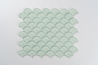 Aurora Glass Mosaic -  Fan - Green