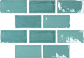 Moments Crackle Glaze - Aqua