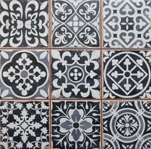 Chancel Black Ceramic tiles