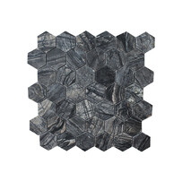 Zebra Mosaic - Hexagon