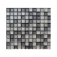 Glass Neutrals - Mosaic - Silver