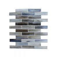 Coastal Brick Glass Mosaic - Oasis