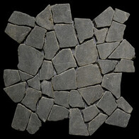 Black Basalt Large Random tiles
