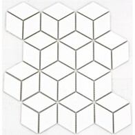 3D Hex - White gloss