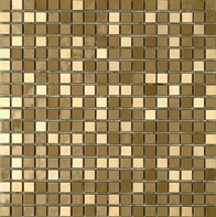 Metalic Gold Mosaic Tiles