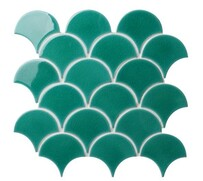 Atlantis Scallop - Emerald