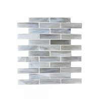 Coastal Brick Glass Mosaic - Artic