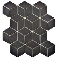 3D Hex - Black Matt
