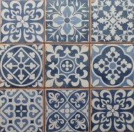 Chancel Blue Ceramic tiles