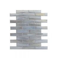 Coastal Brick Glass Mosaic - Nordic